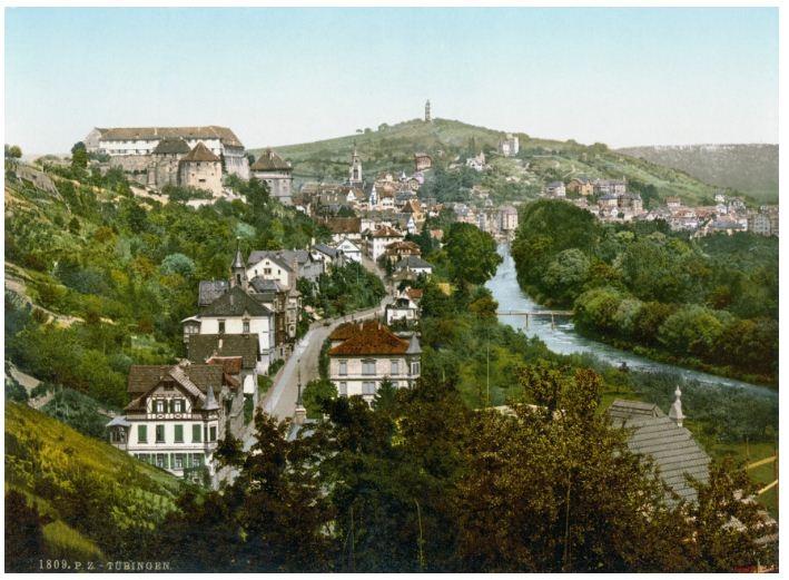 Toàn cảnh thành phố Tuebingen