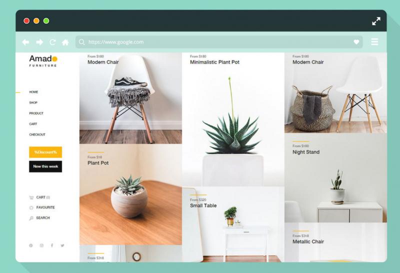 Thiết kế những website template cực đỉnh tại PFT