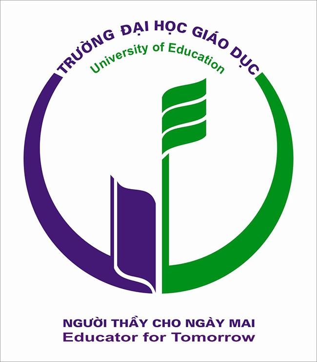 Logo của trường Đại học Giáo dục