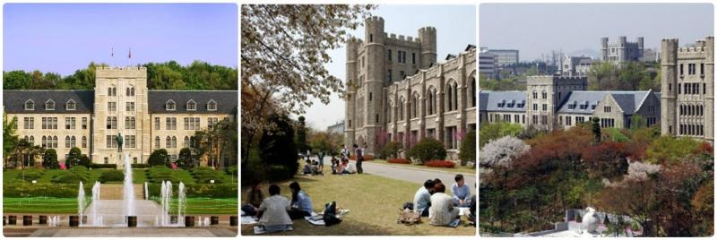 Một vài hình ảnh tại khuôn viên trường Đại học Hàn Quốc.