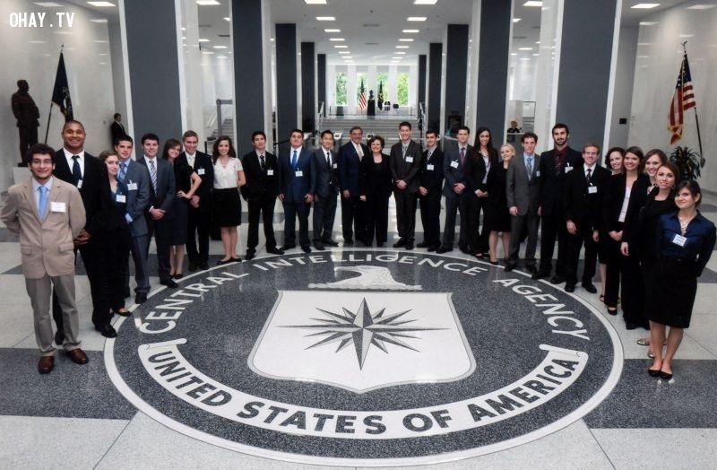 Có cơ hội làm việc và trở thành thành viên của cơ quan tình báo Mỹ