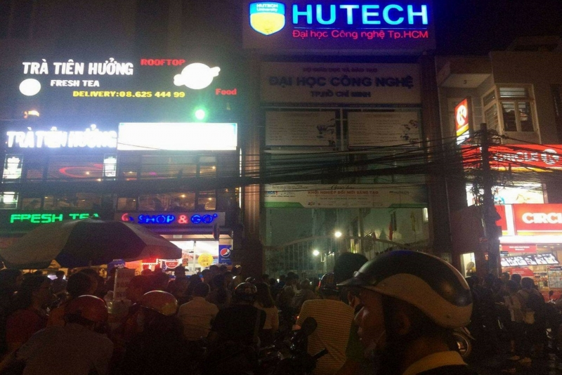 Nam sinh viên tử vong vì mảng bê tông rơi trúng vào đầu tại trường đại học HUTECT