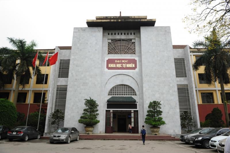 Cổng trước của trường Đại học Khoa học tự nhiên Hà Nội