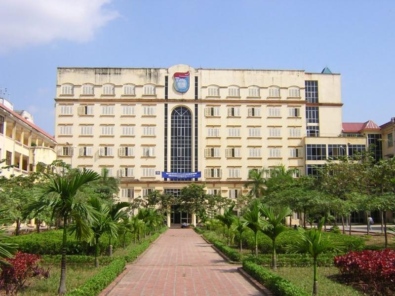 Khuôn viên trường đại học Khoa học Tự nhiên - Đại học Quốc gia Hà Nội