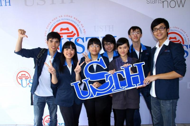 Sinh viên trường Đại học khoa học và công nghệ Hà Nội