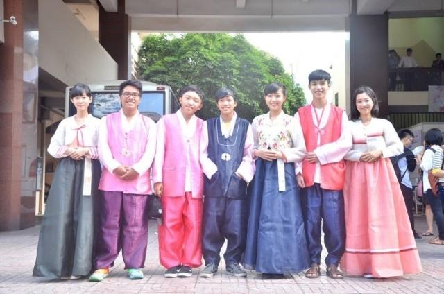 Sinh viên ngành ngôn ngữ Hàn