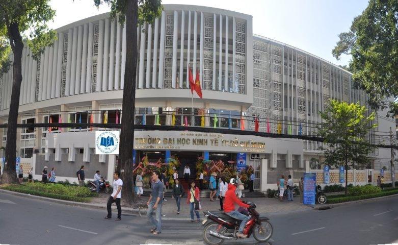 Cơ sở A của Đại học Kinh Tế TP Hồ Chí Minh