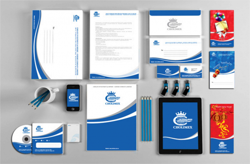 thiết kế bộ nhận diện thương hiệu là bộ phận không thể thiếu trong thiết kế đồ họa