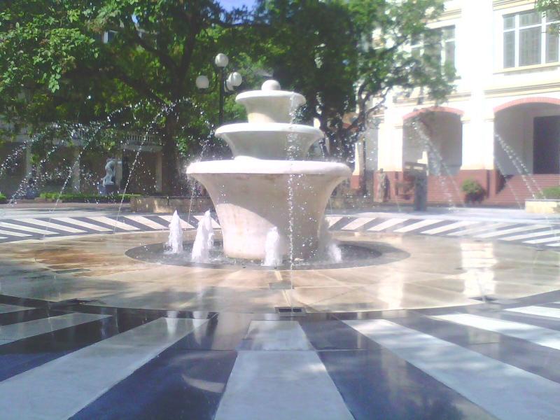 Hệ thống đài phun nước tại đại học Mỹ thuật Việt nam
