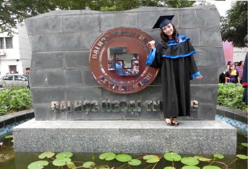 Cái nôi của hoa hậu đại học Ngoại Thương