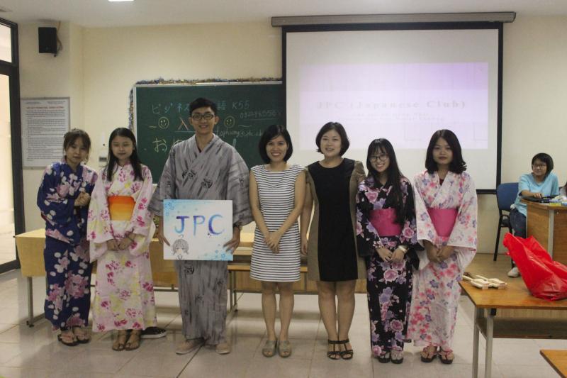 Khoa tiếng Nhật Đại học Ngoại Thương