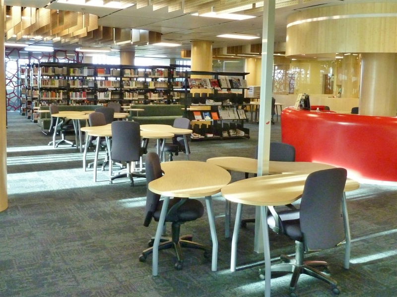 Thư viện cùng môi trường học tập hiện đại bậc nhất
