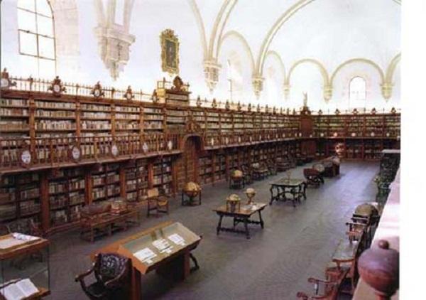Bên trong trường Đại học Salamanca