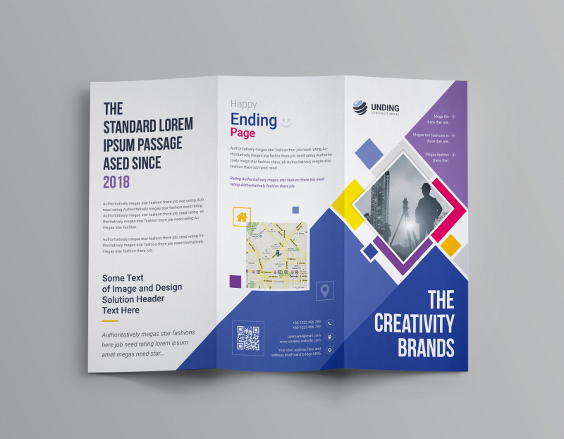 Những mẫu brochure đầy sáng tạo tại ĐH Sư Phạm Nghệ Thuật Trung Ương
