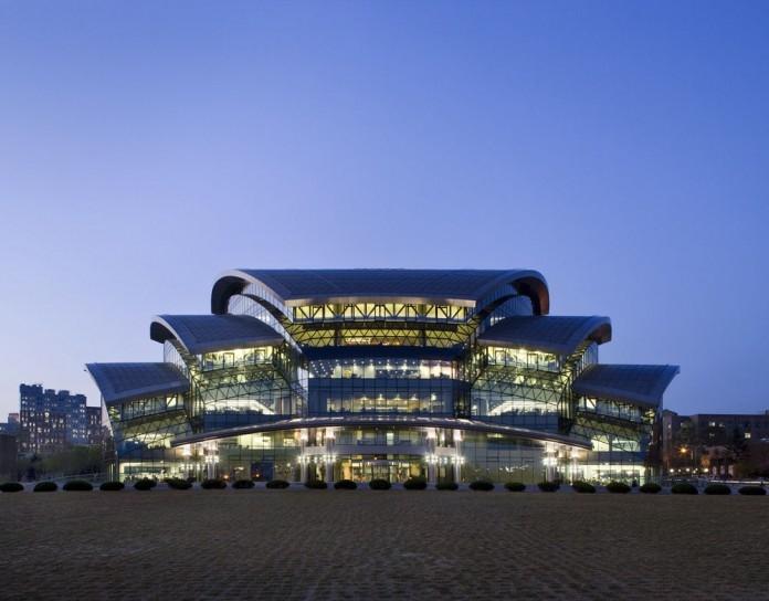 Kiến trúc độc đáo của Đại học Sungkyunkwan.