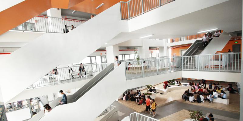 Sảnh chính Trường Đại học Văn Lang
