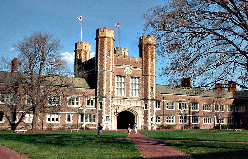 Đại học Washington St.Louis được sáng lập vào năm 1853