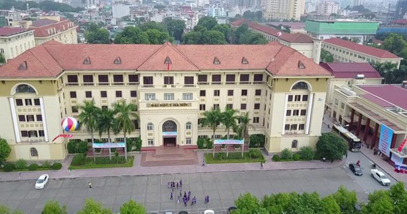 Đại học Y Hà Nội nhìn từ trên cao