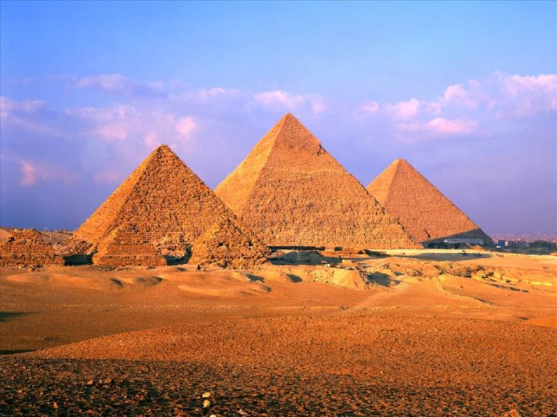 Đại kim tự tháp Giza (El Giza, Ai Cập)