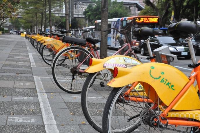 Người Đài Loan cũng thường sử dụng xe đạp công cộng ubike.