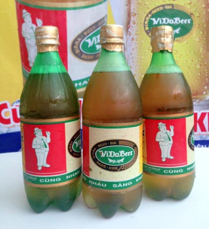 Bia hơi Sài Gòn đóng chai chất lượng.