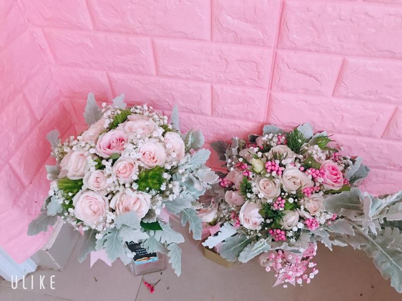 Kết quả hình ảnh cho bó hoa cưới truyền thống