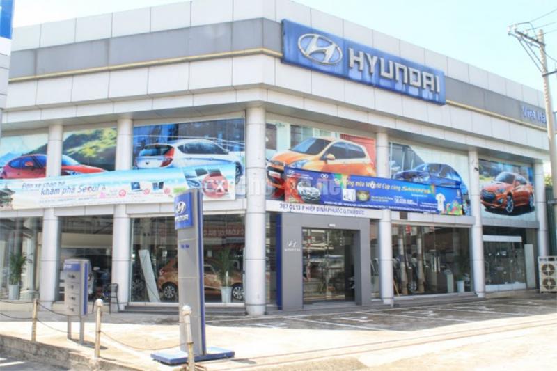 Showroom Hyundai Việt Hàn