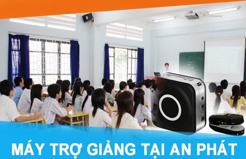 An phát cung cấp máy trợ giảng cho nhiều trường học, trung tâm