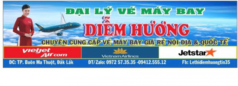 Đại lý vé máy bay Diễm Hương