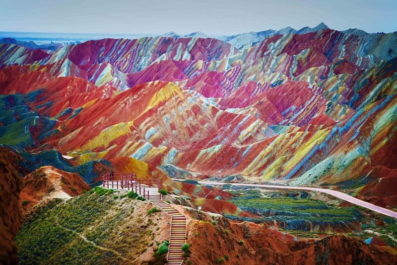 Dải núi cầu vồng, Trung Quốc đẹp ngỡ ngàng như được tô màu