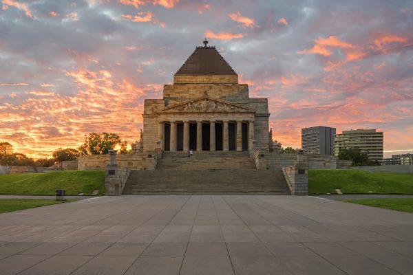 Đài tưởng niệm Melbourne - The Shrine of Remembrance