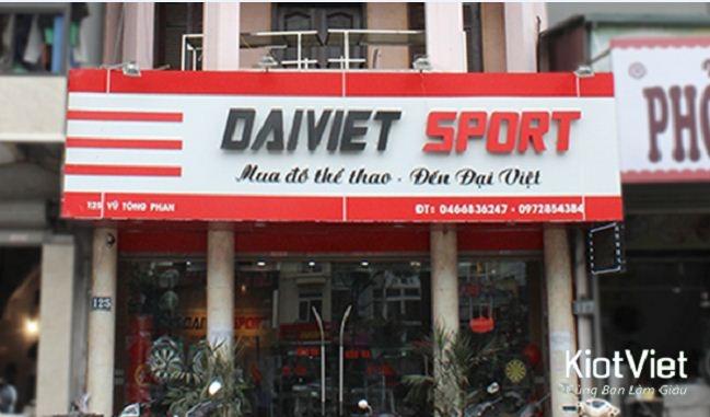 Đại Việt Sport - nhà phân phối đồ thể thao uy tín tại Hà Nội