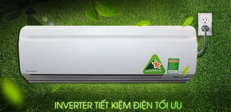 Daikin 1 HP FTKS25GVMV được quảng bá là có khả năng tiết kiệm điện hàng đầu hiện nay.