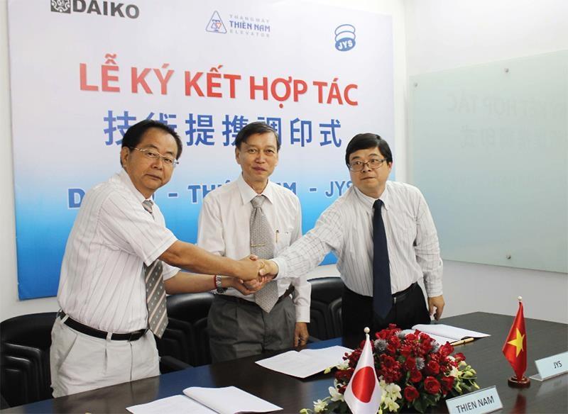 Công ty Thiên Nam ký kết hợp tác liên doanh với Tập đoàn DAIKO