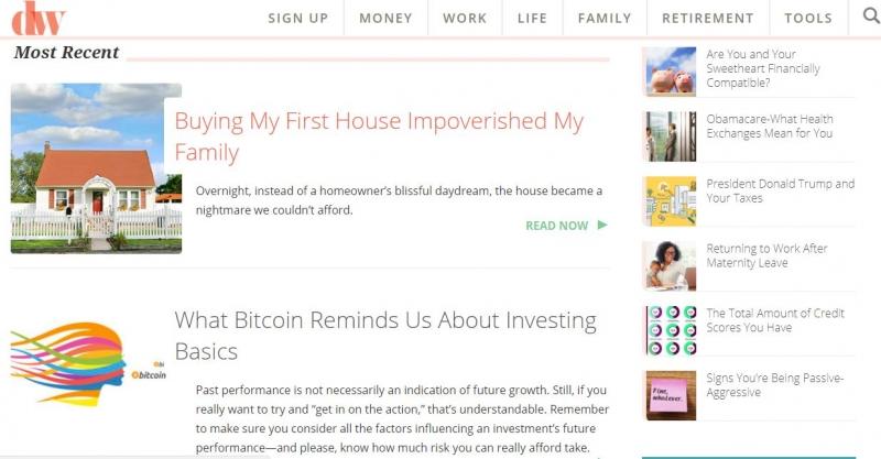 Website của Dailyworth