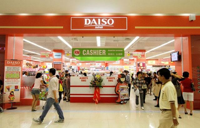 Cửa hàng tiện ích đồng giá Daiso của Nhật Bản