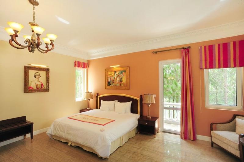 Phòng nghỉ tại Dalat Edensee Lake Resort & Sp