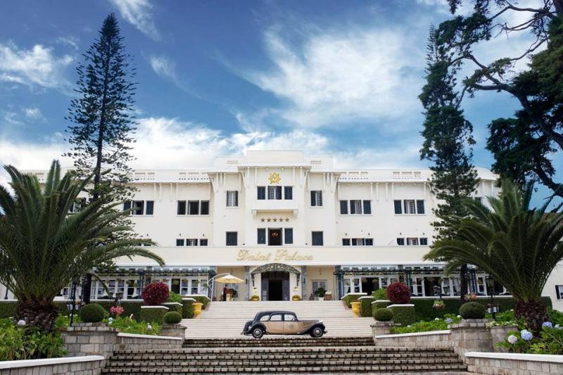 Dalat Palace được biết đến là khách sạn lâu đời nhất tại Đà Lạt