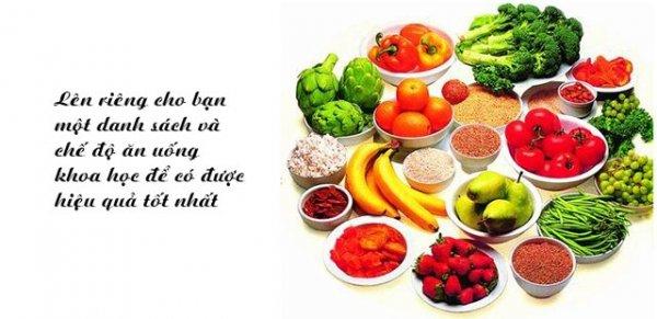 Đảm bảo chế độ ăn khoa học