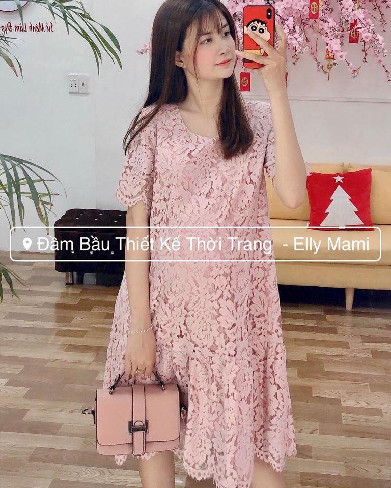 Đầm Bầu Thiết Kế Thời Trang - Elly Mami