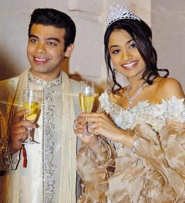 Vanisha Mittal và Amit Bhatia