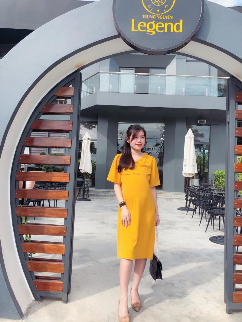 Đầm Suông Đầm Bầu LAMVI