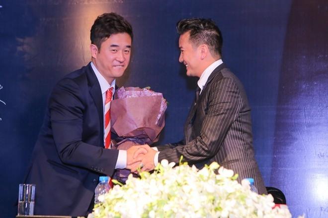 Buổi họp báo công bố nhận giải thưởng