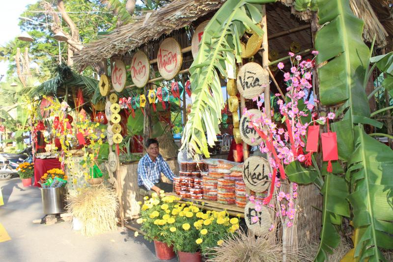 Dàn ý tả quang cảnh phiên chợ thôn quê bằng trí tưởng tượng của em