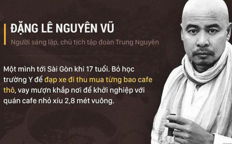 Đặng Lê Nguyên Vũ khởi nghiệp như thế nào?