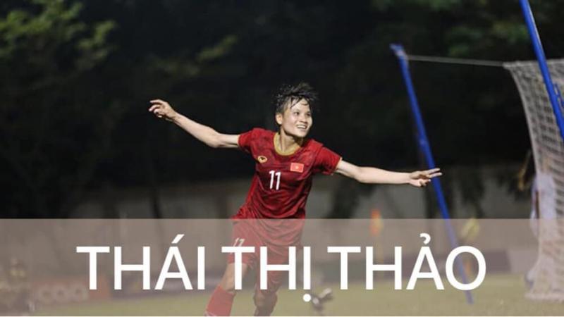 Nữ cầu thủ Thái Thị Thảo