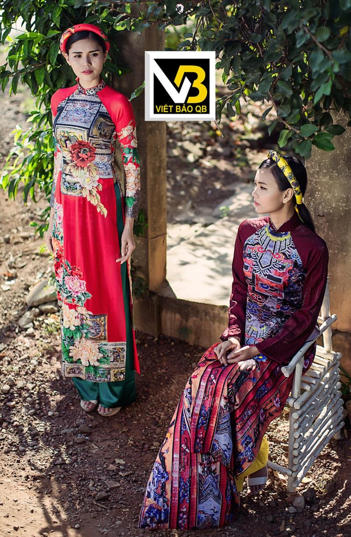 Áo dài Viết Bảo Qb - Thương hiệu Áo dài tôn vinh vẻ đẹp phụ nữ Việt