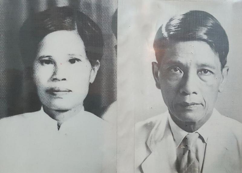 Thầy giáo Đặng Thai Mai và phu nhân