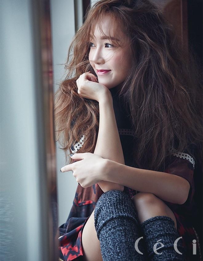 Hình ảnh thân thiện khi cười của Jessica.