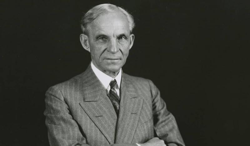Henry Ford đã không từ bỏ cho dù ông đã từng phá sản 2 DN ô tô trước khi có Ford